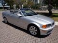 2001 3 Series 325i Convertible Titanium Silver Metallic