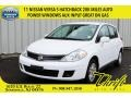 Fresh Powder White 2011 Nissan Versa 1.8 S Hatchback