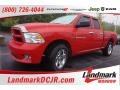 2012 Flame Red Dodge Ram 1500 Express Quad Cab #103185570