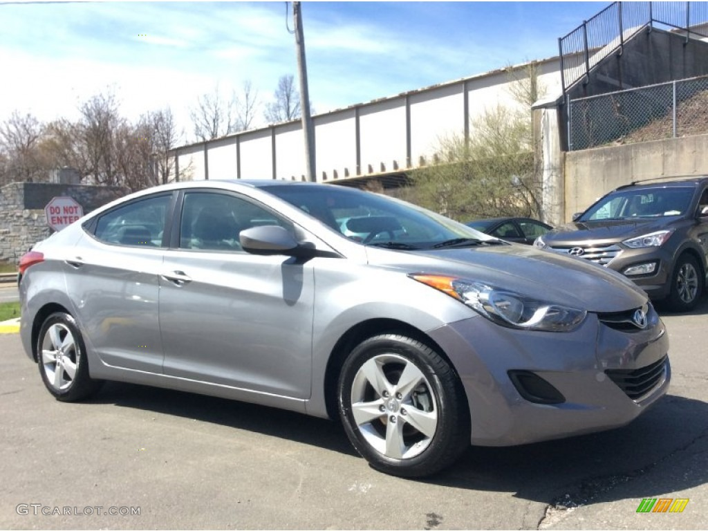 Gray 2013 Hyundai Elantra Gls Exterior Photo 103233766