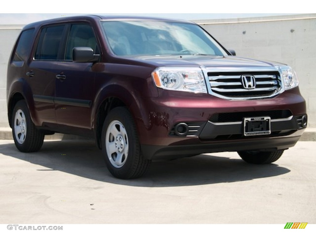 2015 dark cherry pearl honda pilot lx 103234076 car color galleries. Black Bedroom Furniture Sets. Home Design Ideas