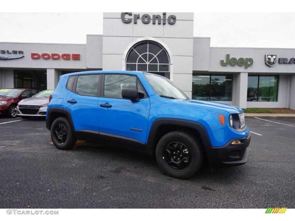 2015 sierra blue jeep renegade sport 103241080 car color galleries. Black Bedroom Furniture Sets. Home Design Ideas