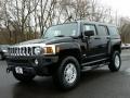 Black 2007 Hummer H3 X