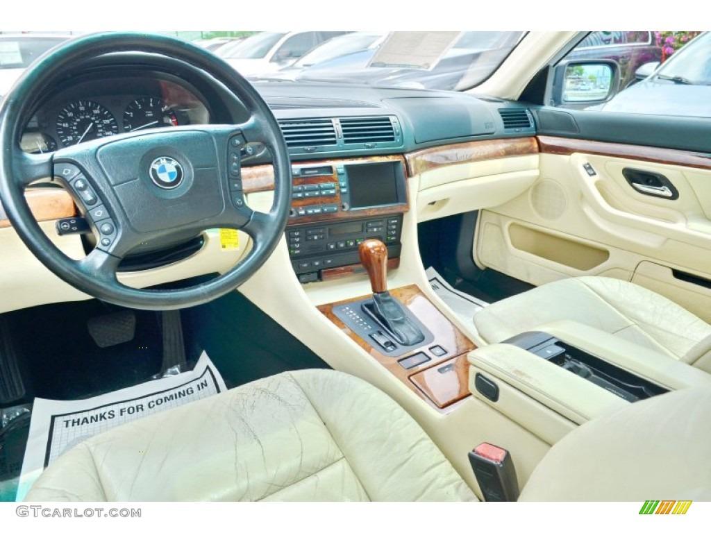 2001 7 Series 740iL Sedan - Oxford Green Metallic / Oyster Beige/English Green photo a href=