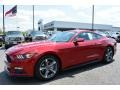 Ruby Red Metallic 2015 Ford Mustang Gallery