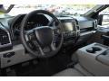 Medium Earth Gray Interior Photo for 2015 Ford F150 #103286680