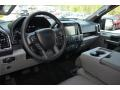 Medium Earth Gray Interior Photo for 2015 Ford F150 #103287286
