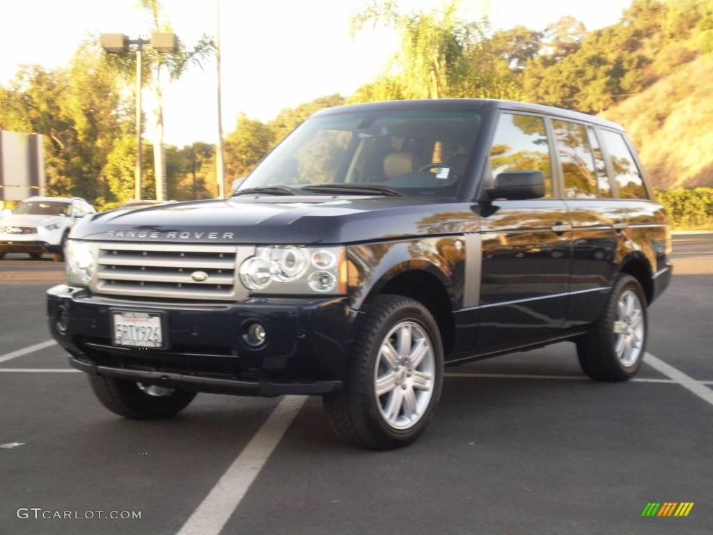 2006 buckingham blue metallic land rover range rover hse. Black Bedroom Furniture Sets. Home Design Ideas