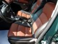 Jet Black/Brick 2014 Chevrolet Cruze Interiors