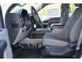 Medium Earth Gray Interior Photo for 2015 Ford F150 #103328300