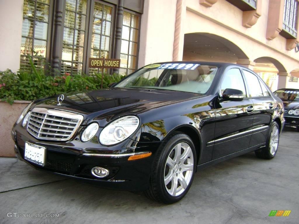 2007 black mercedes benz e 350 sedan 1020703 gtcarlot for 2007 mercedes benz e 350