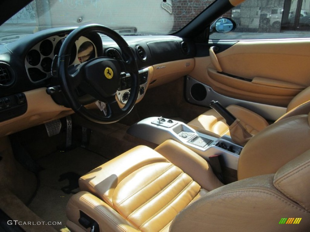 2002 Ferrari 360 Modena F1 Interior Color Photos