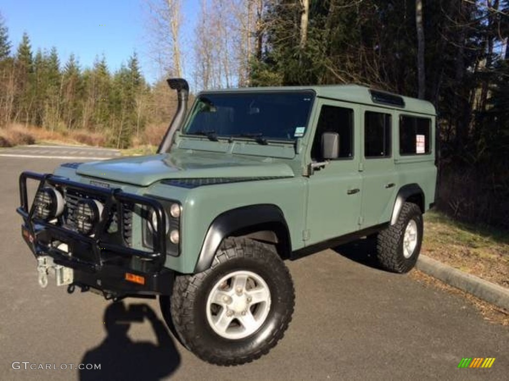 1985 Military Green Land Rover Defender 110 Hardtop