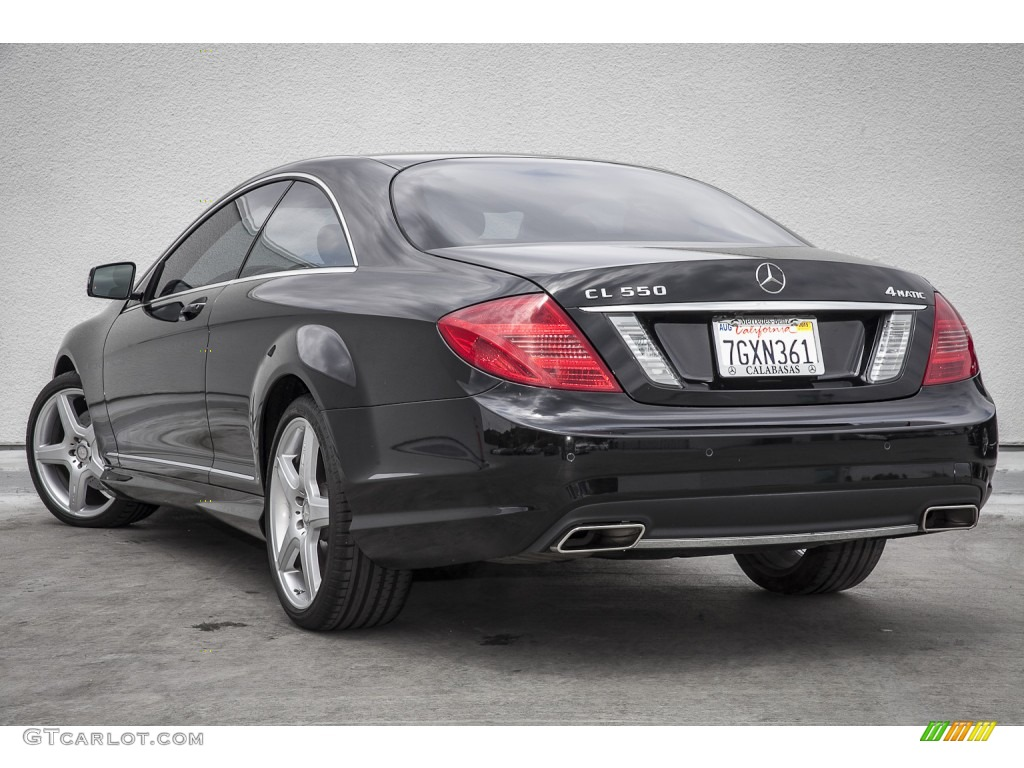 2014 obsidian black metallic mercedes benz cl 550 4matic. Black Bedroom Furniture Sets. Home Design Ideas