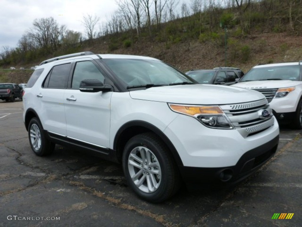 2015 oxford white ford explorer xlt 4wd 103361966