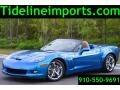 Jetstream Blue Metallic 2010 Chevrolet Corvette Grand Sport Convertible