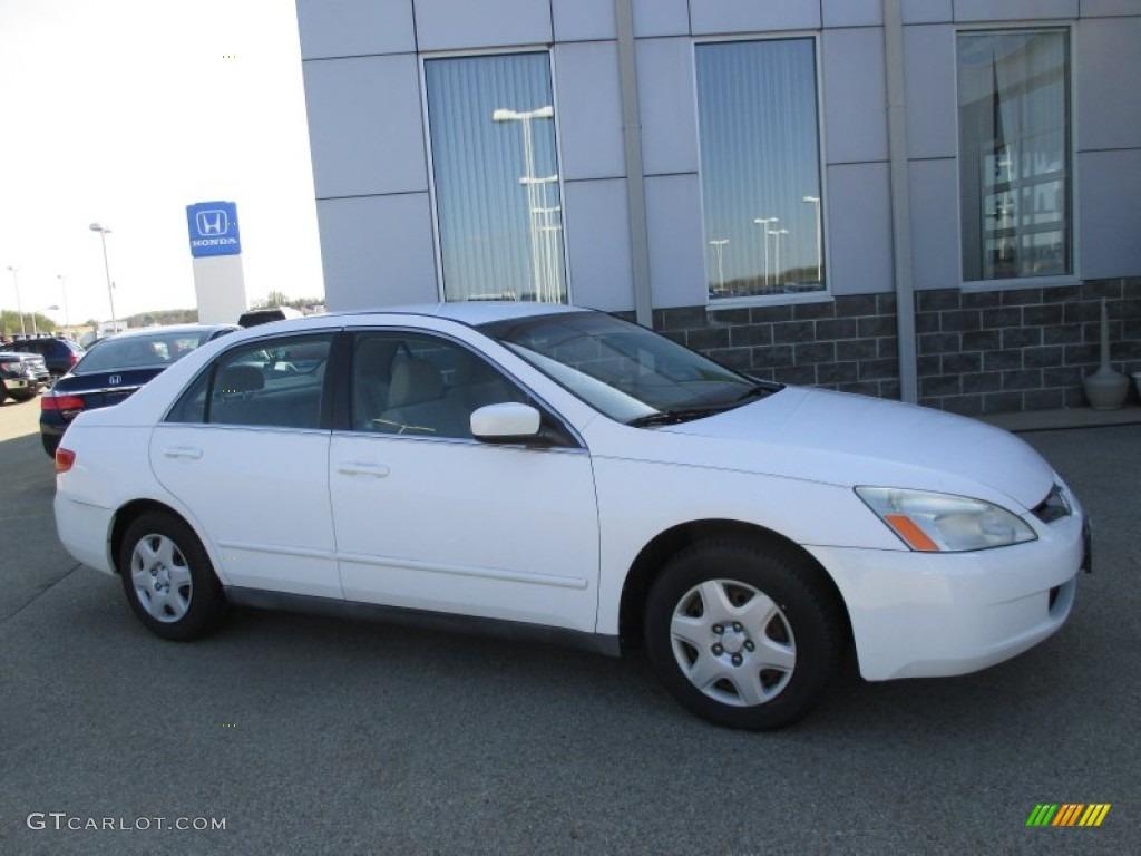 2005 Taffeta White Honda Accord Lx Sedan 103398616