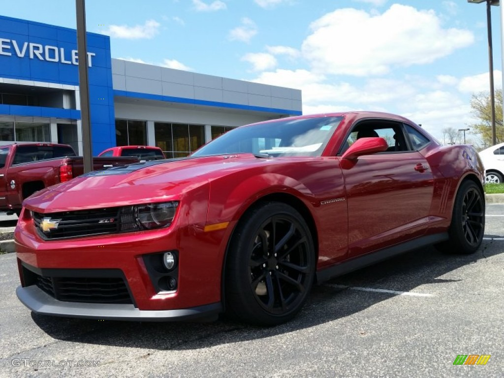 2015 crystal red tintcoat chevrolet camaro zl1 coupe 103398120 car color galleries. Black Bedroom Furniture Sets. Home Design Ideas