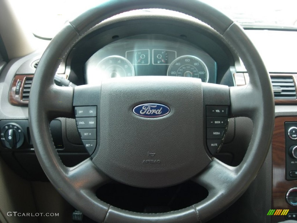 2008 ford taurus sel steering wheel photos. Black Bedroom Furniture Sets. Home Design Ideas