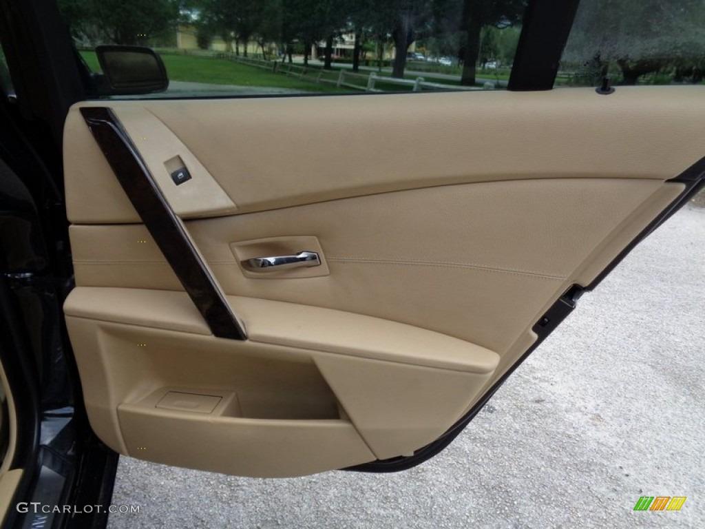 2004 Bmw 5 Series 545i Sedan Beige Door Panel Photo 103440105