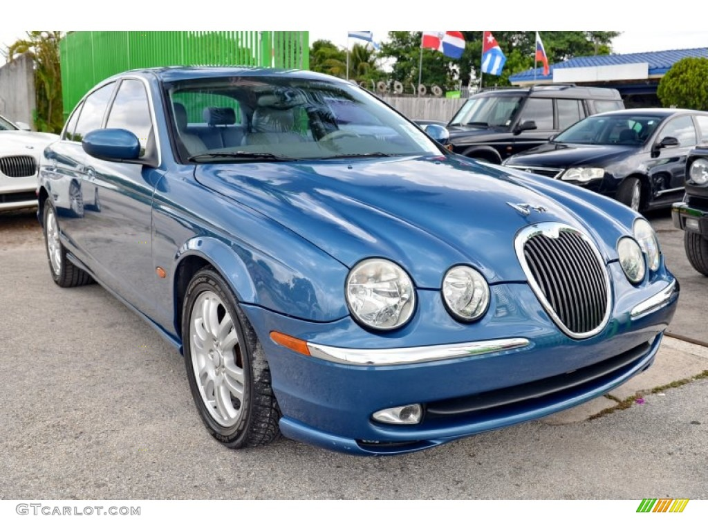 2003 pacific blue metallic jaguar s type 4 2 103438271 car color galleries. Black Bedroom Furniture Sets. Home Design Ideas