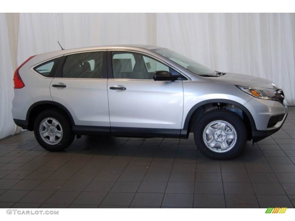 2015 CR-V LX - Alabaster Silver Metallic / Gray photo #5
