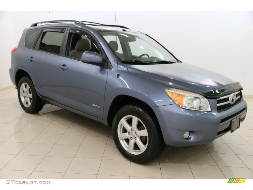 2006 pacific blue metallic toyota rav4 limited 4wd 103460692 photo 5 car. Black Bedroom Furniture Sets. Home Design Ideas