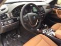 2015 BMW X3 Saddle Brown Interior Interior Photo