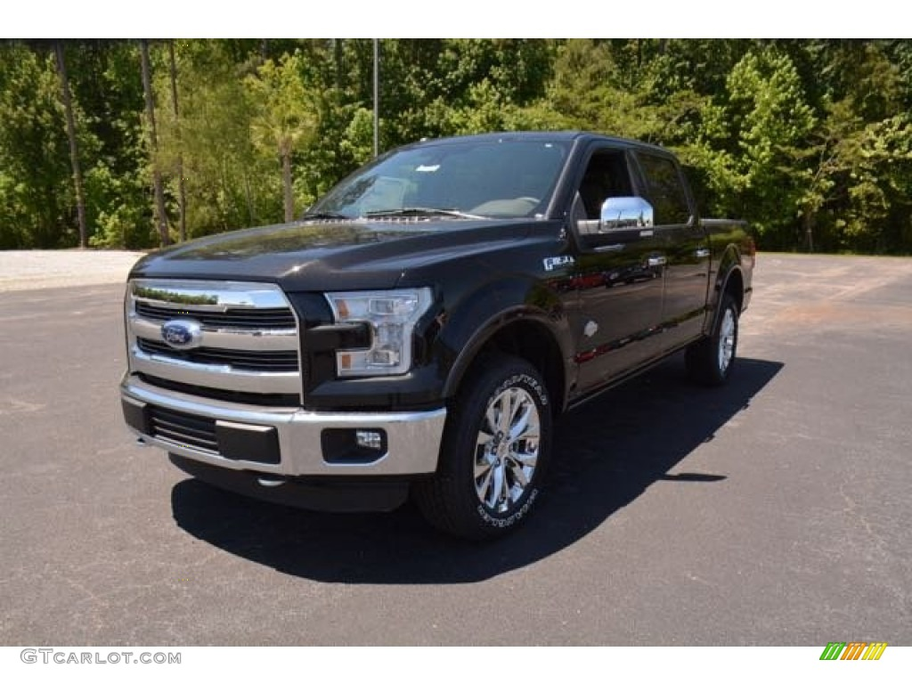 2015 tuxedo black metallic ford f150 king ranch supercrew 4x4 103460682 car. Black Bedroom Furniture Sets. Home Design Ideas