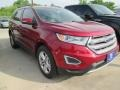 Ruby Red Metallic 2015 Ford Edge SEL