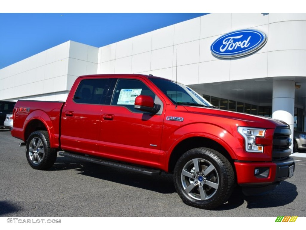 Ruby Red Metallic Ford F