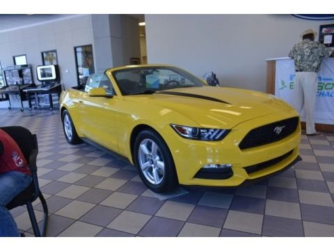 2015 Ford Mustang V6 Convertible Data, Info and Specs