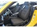 Ebony Front Seat Photo for 2015 Ford Mustang #103480278