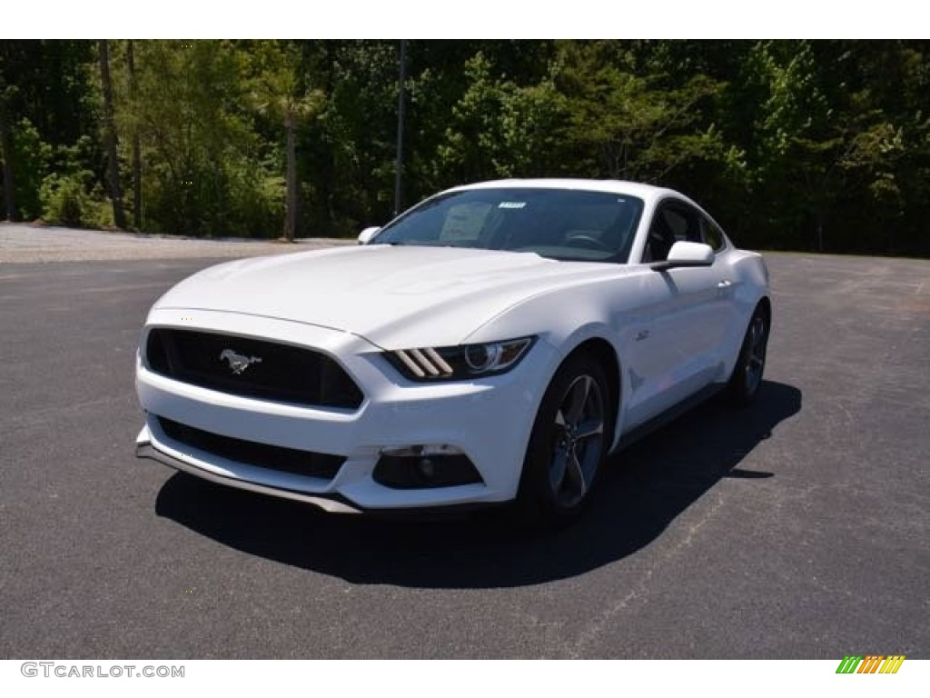 2015 Mustang GT Coupe - Oxford White / Ebony Recaro Sport Seats photo #1