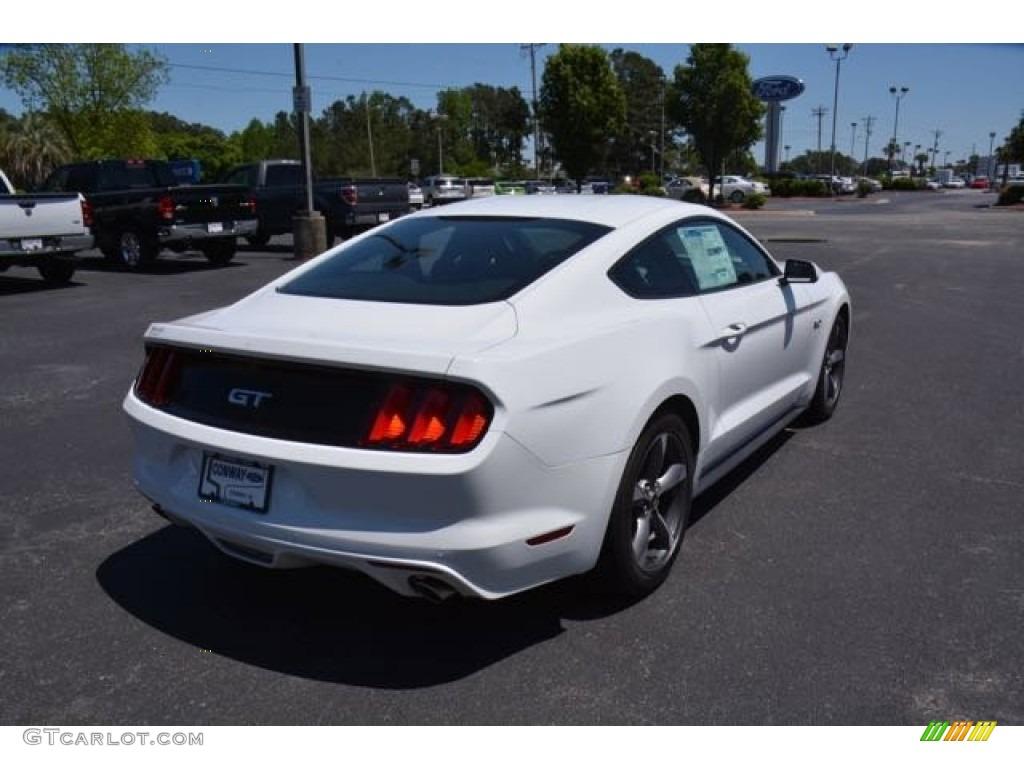 2015 Mustang GT Coupe - Oxford White / Ebony Recaro Sport Seats photo #5