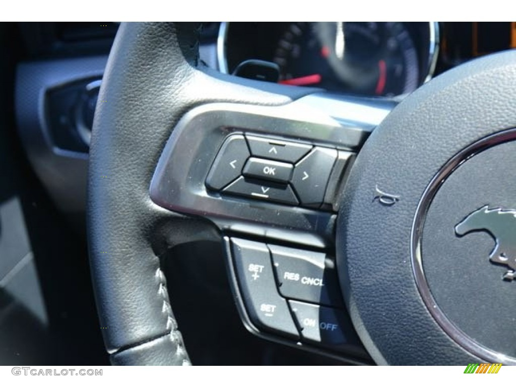 2015 Mustang GT Coupe - Oxford White / Ebony Recaro Sport Seats photo #17