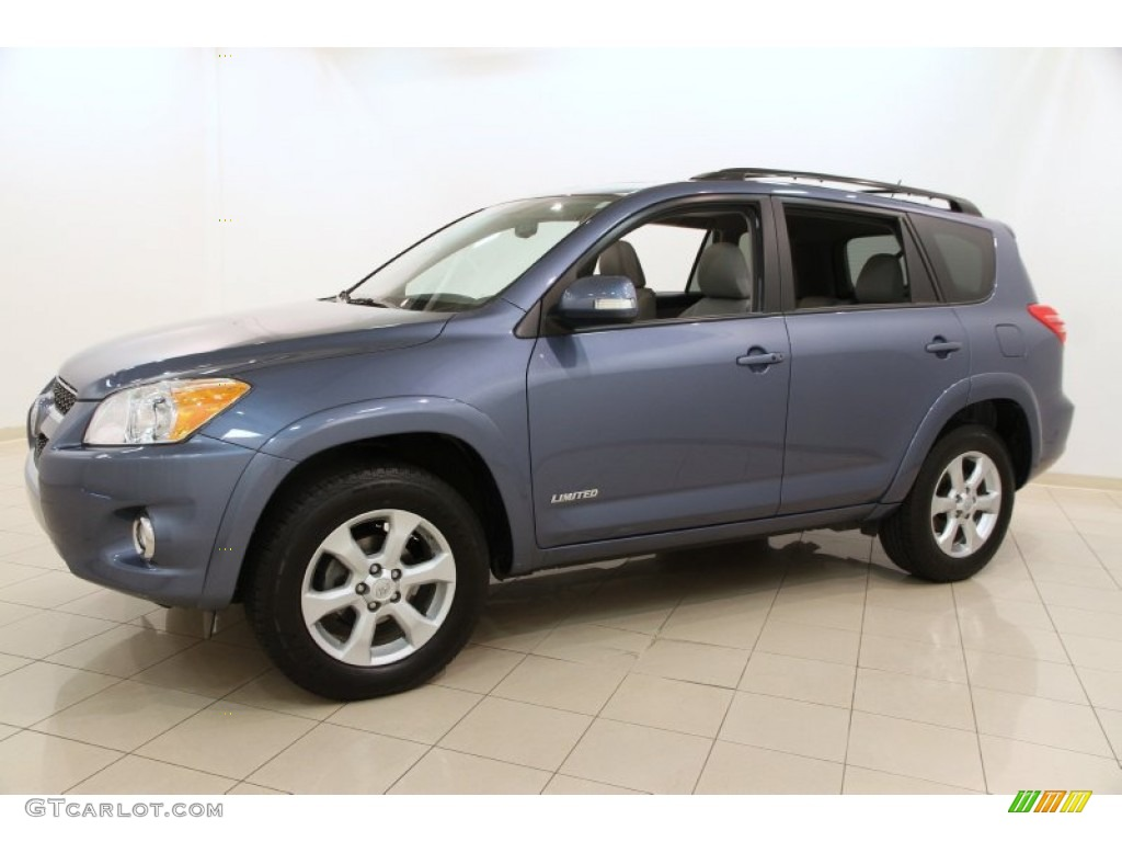 pacific blue metallic 2012 toyota rav4 limited 4wd. Black Bedroom Furniture Sets. Home Design Ideas