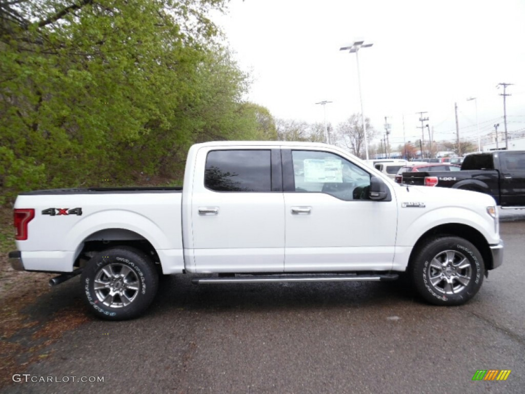 2010 Ford F150 Lariat News >> 2015 Oxford White Ford F150 XLT SuperCrew 4x4 #103483704 | GTCarLot.com - Car Color Galleries