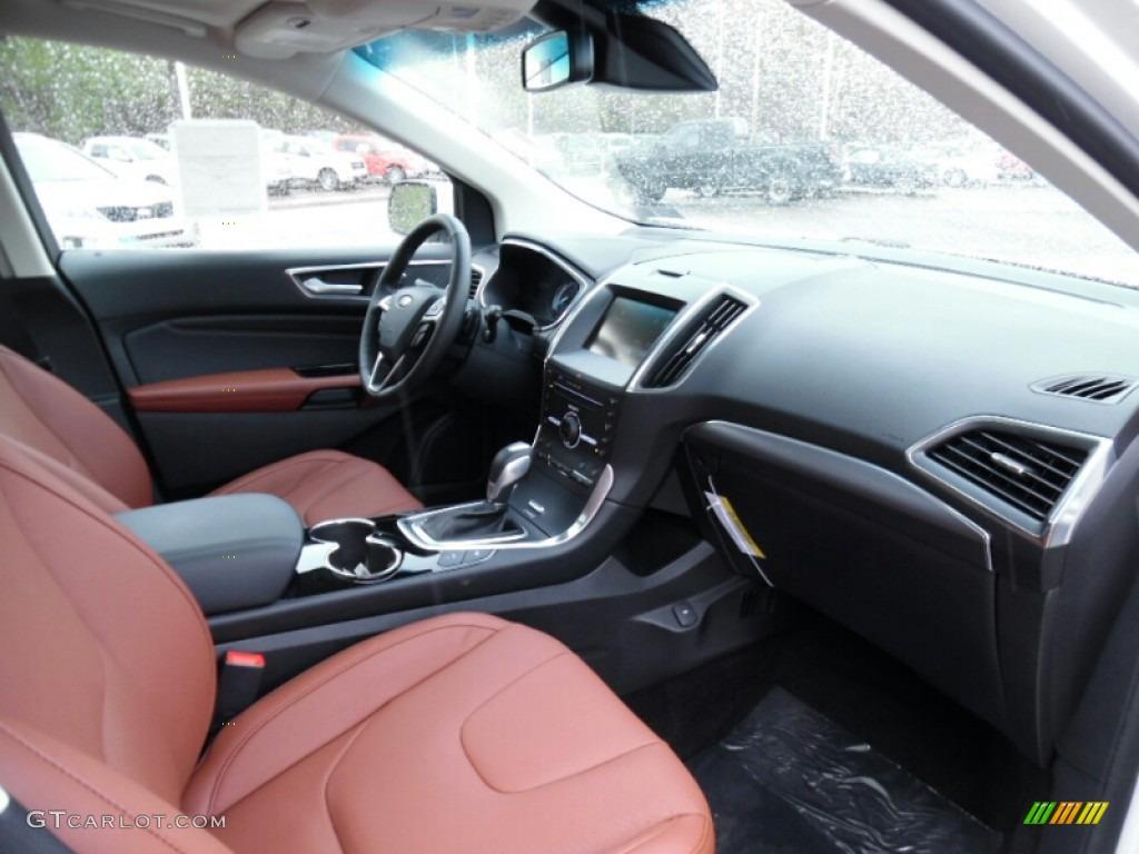 cognac interior 2015 ford edge titanium awd photo 103502588. Black Bedroom Furniture Sets. Home Design Ideas