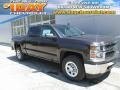 Tungsten Metallic - Silverado 1500 WT Crew Cab 4x4 Photo No. 1