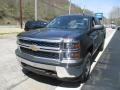 Tungsten Metallic - Silverado 1500 WT Crew Cab 4x4 Photo No. 9
