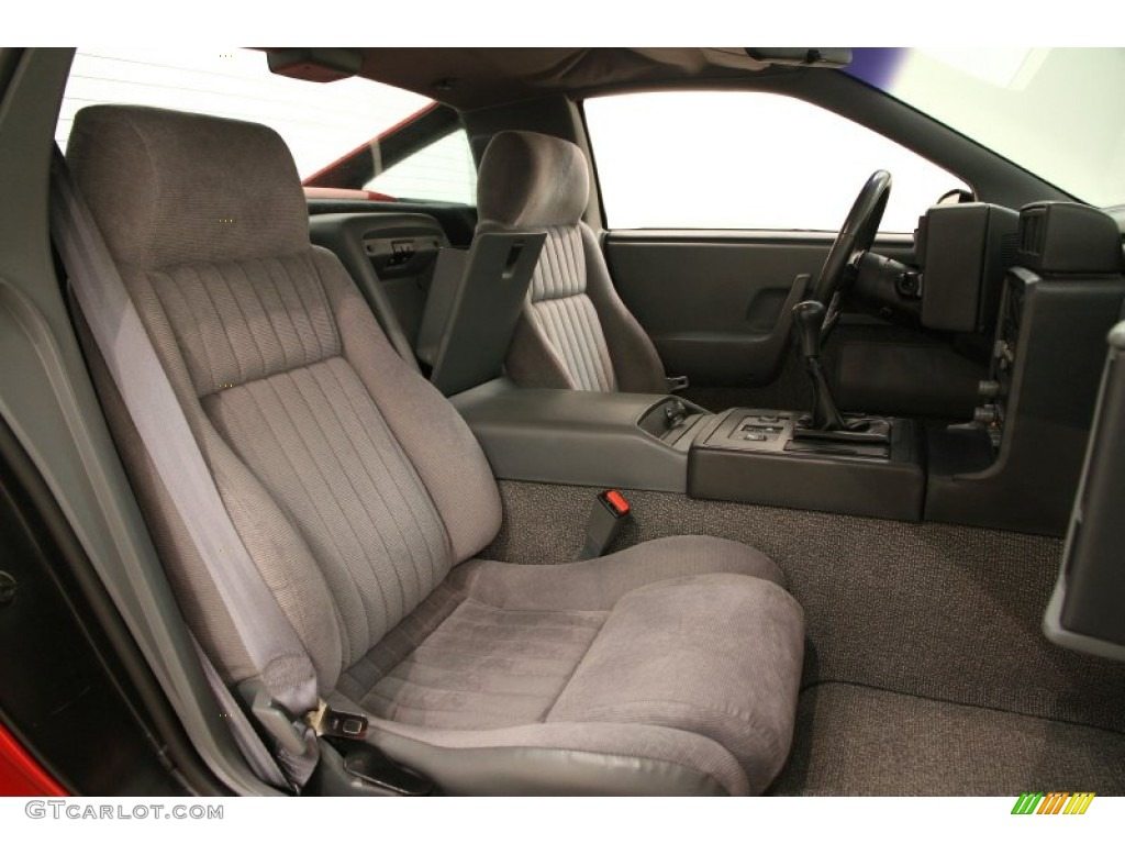 1988 Pontiac Fiero GT Interior Color Photos