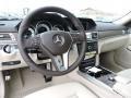 Silk Beige/Espresso Brown Interior Photo for 2016 Mercedes-Benz E #103567914