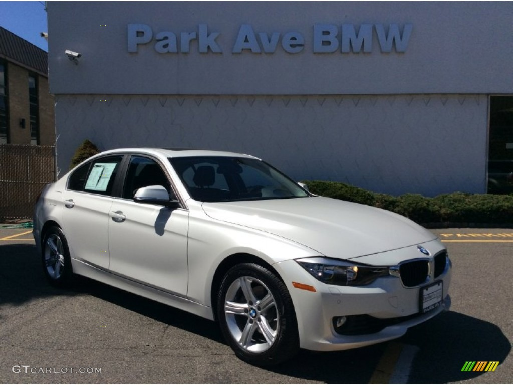2015 mineral white metallic bmw 3 series 328i xdrive sedan 103551644 car color. Black Bedroom Furniture Sets. Home Design Ideas