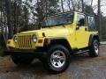 Solar Yellow 2001 Jeep Wrangler Gallery