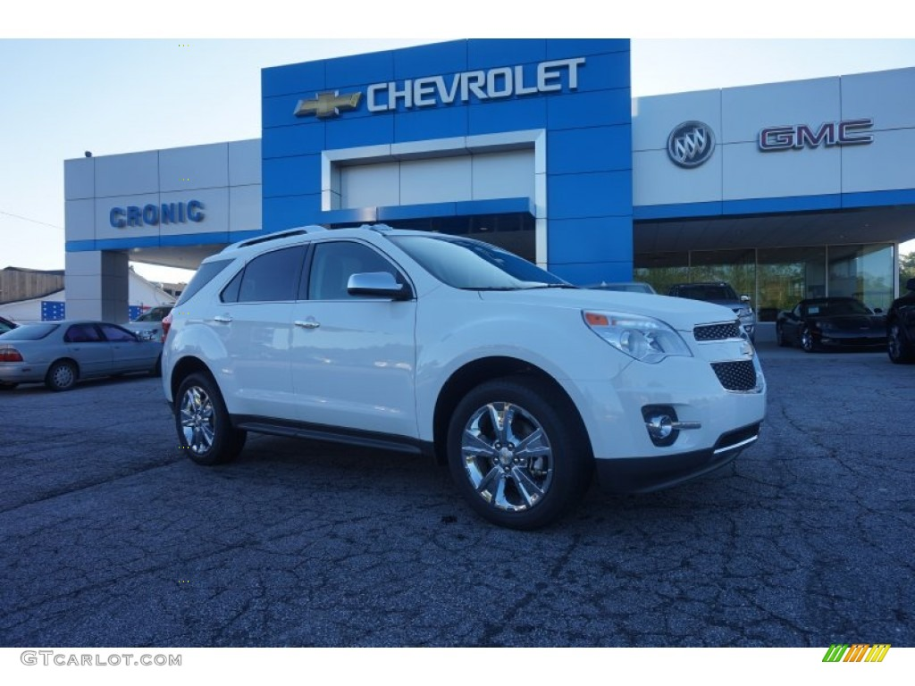 2015 summit white chevrolet equinox ltz 103587022 car color galleries. Black Bedroom Furniture Sets. Home Design Ideas