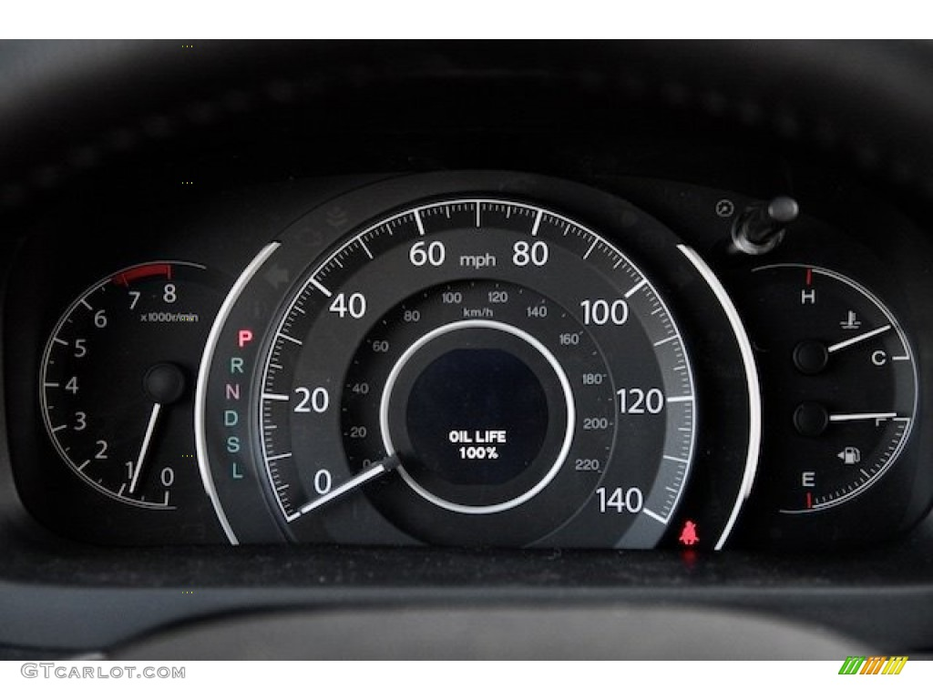 2015 CR-V Touring - White Diamond Pearl / Black photo #20