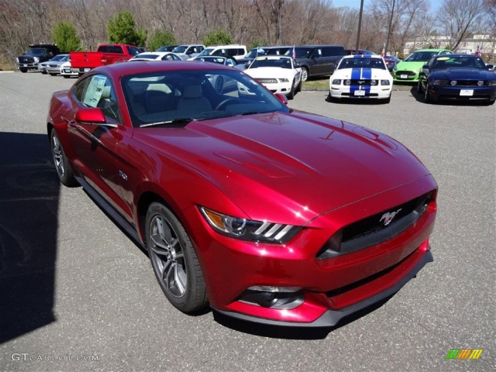 Mustang Ruby Red Paint Code