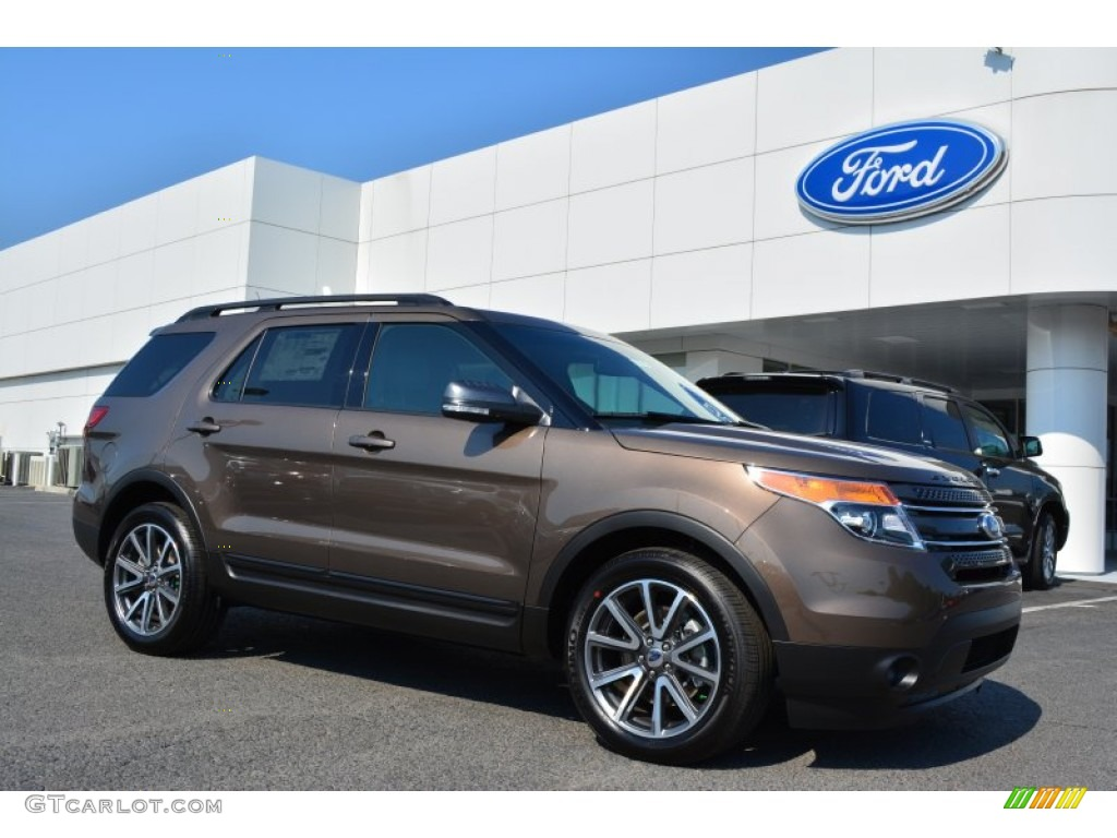 2015 explorer xlt caribou charcoal black photo 1 - New 2015 Ford Explorer Black Color