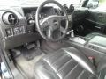 2005 H2 SUT Ebony Black Interior